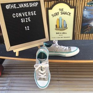 Converse All Star Canvas Low Top Sneakers Size 12